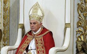 ITALY-POPE-VESPERS